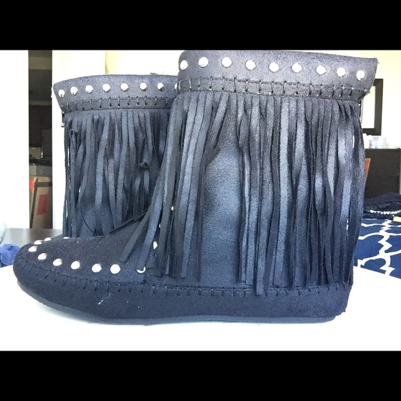 e20325757 Shoe Dazzle Shoes | Final Price Tahoe Bootie From Shoedazzle | Poshmark